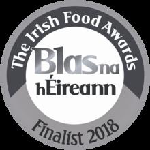Blas na hEireann - The Irish Food Awards Silver 2018 - circle